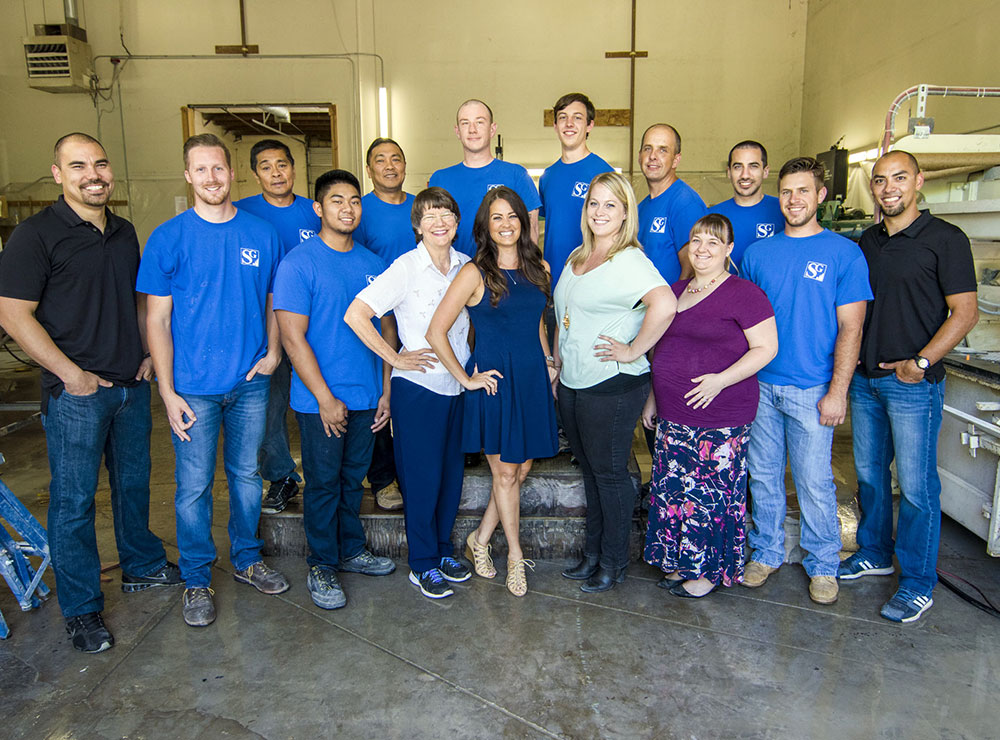 The employees of Stokes Granite & Stone, Inc.