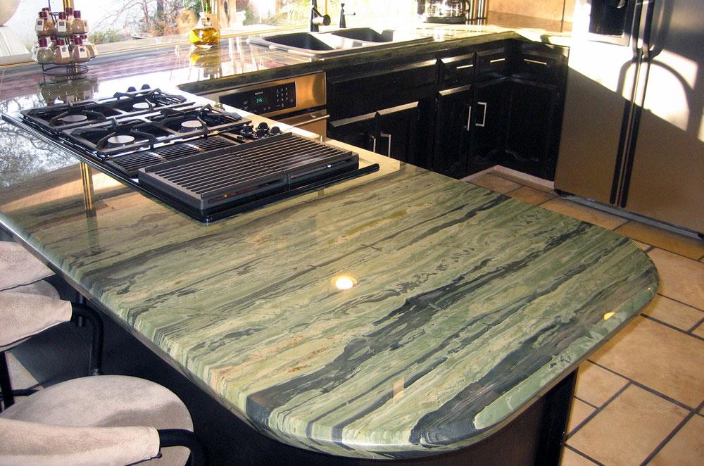 Granite Kitchen with Diamond Edge