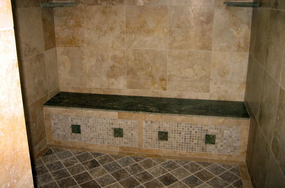 Granite Shower Seat