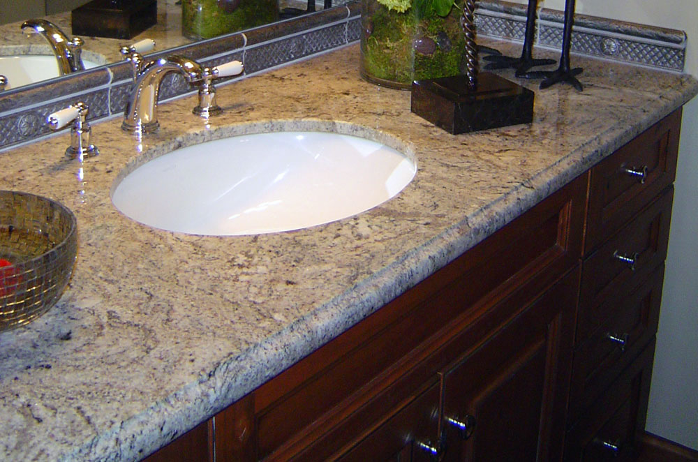 Granite Undermount Sink with Ogee Bullnose Edge