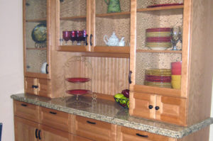 Granite Buffet with Ogee Eased Edge