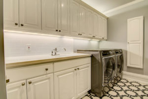 Calcutta Nuvo Ceasarstone Quartz Laundry with Undermount Sink
