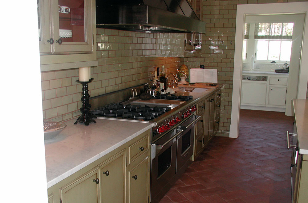3cm Marble Kitchen with Double Eased Edge