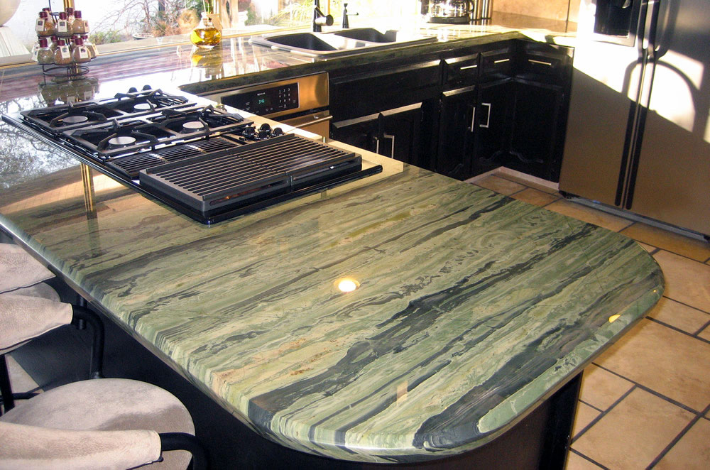 Granite Kitchen with Diamond Edge
