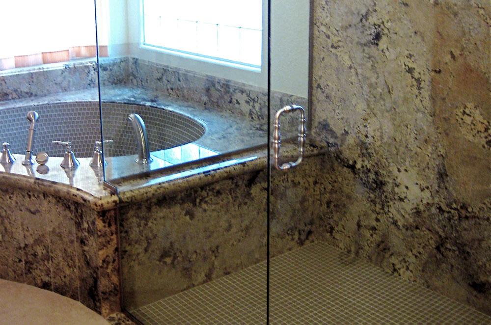 Granite Tub & Shower Surround