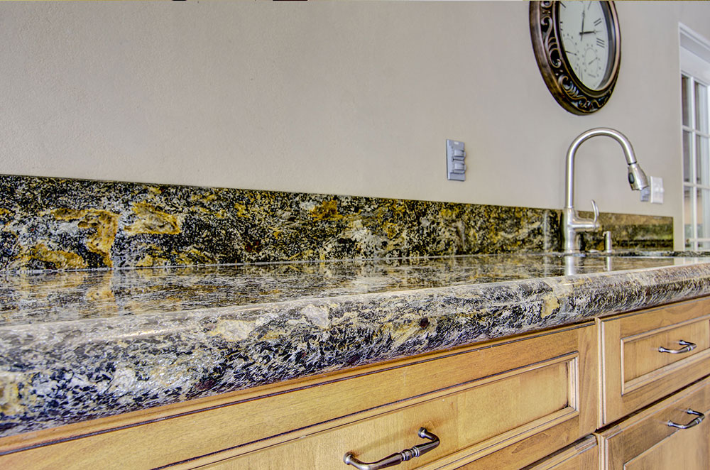 Cosmos Granite with Full Bullnose Edge