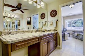 Sage Granite Vanity with Undermount Sink