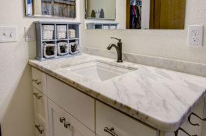 Taj Mahal Quartzite Vanity with Undermount Sink