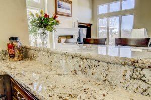 Snowfall Granite Raised Bar