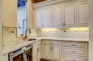 Snowfall Granite Utility Kitchen Decks