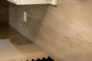 Taj Mahal Quartzite Eased Laminated Edge Woods-Cann Sink
