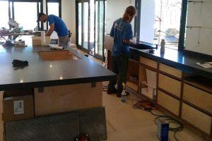 Stokes Counter Top Installation